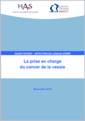 La prise en charge du cancer de la vessie