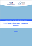 La prise en charge du cancer du poumon