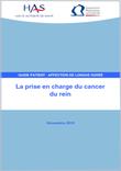 La prise en charge du cancer du rein