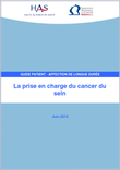 La prise en charge du cancer du sein