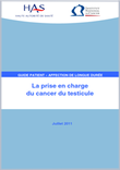 La prise en charge du cancer du testicule