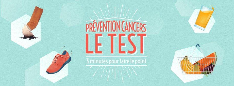 Prévention cancers le test - home page