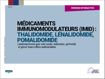 thalidomide effets secondaires