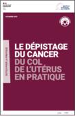 Couverture outil pratique professionnel santé dépistage cancer col utérus