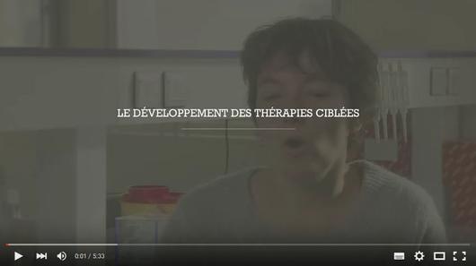 Le développement des thérapies ciblées